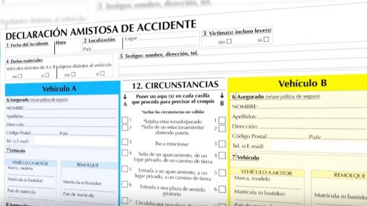 Cómo rellenar un parte amistoso de accidentes 2